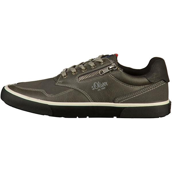 s.Oliver, Gute Sneakers Low, grau  Gute s.Oliver, Qualität beliebte Schuhe 9554d6