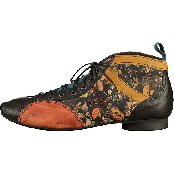 Think! Schnürschuhe schwarz/gelb  Gute Qualität beliebte Schuhe