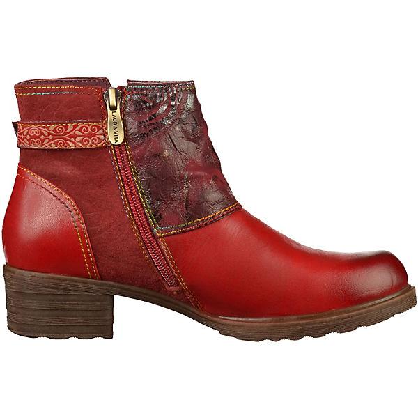 Laura Vita, Gute Klassische Stiefeletten, rot  Gute Vita, Qualität beliebte Schuhe 2d500b