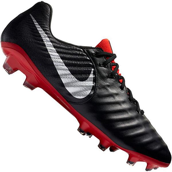 080 schwarz Tiempo FG Fußballschuh VII mit rot Legend AH7238 Elite NIKE Fasern Flywire qPBa0OwP