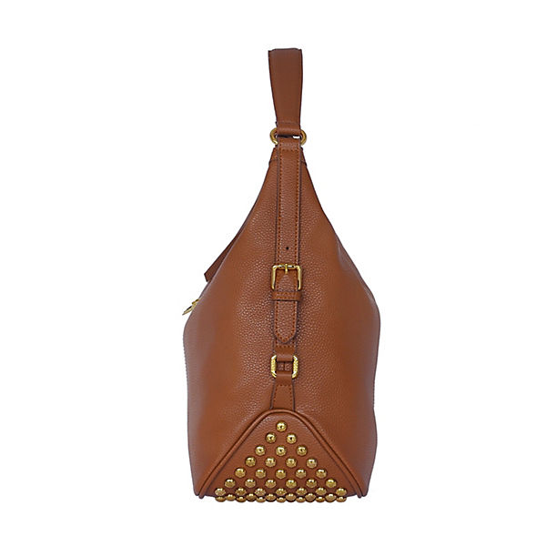 Silvio Spezialschutzschicht LederhandUnd Mit Handtaschen Tossi Hochtechnologischer Schultertasche Cognac MLqzUpjSVG