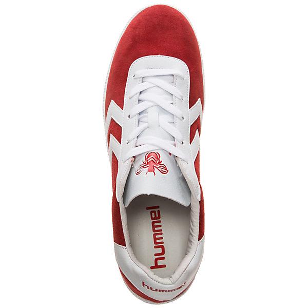hummel, Off-Field Turnschuhe Sneakers  Low, rot/weiß  Sneakers  e7babd