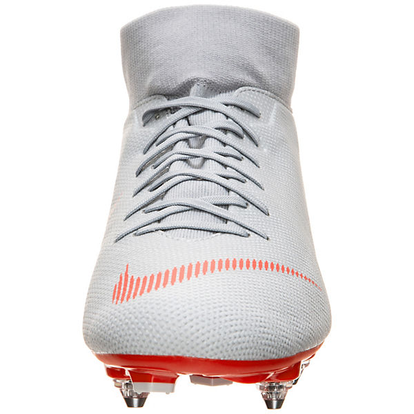 Nike Performance, Nike Mercurial Superfly VI Fußballschuhe, Academy SG-Pro Fußballschuh  Fußballschuhe, VI grau/rot   821bd9
