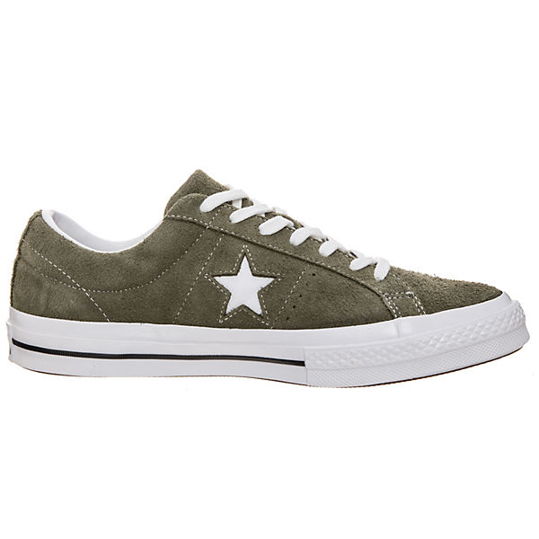 CONVERSE, Cons One Star OX  TurnschuheSneakers Low, grün   OX 3131bc
