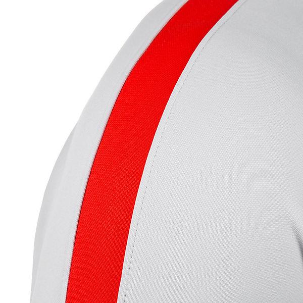 Langarmshirts Dry grau Nike Nike Trainingsshirt Performance rot Academy aTnHFBgq