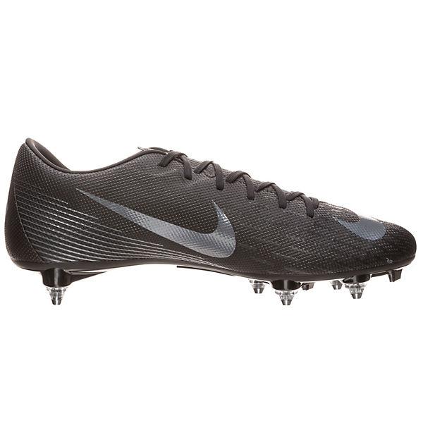 Nike Performance, Nike Mercurial Vapor XII Academy schwarz SG-Pro Fußballschuh  Fußballschuhe, schwarz Academy   7259b1