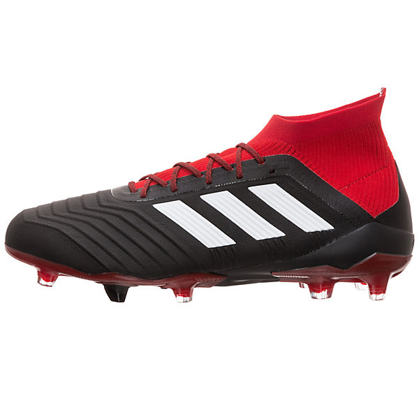 FG Predator Fußballschuh 1 schwarz rot Fußballschuhe Performance adidas adidas 18 BXwHRHq