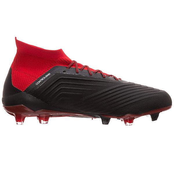 Performance 1 adidas Fußballschuh Predator rot adidas Fußballschuhe schwarz FG 18 wIrZxdgr