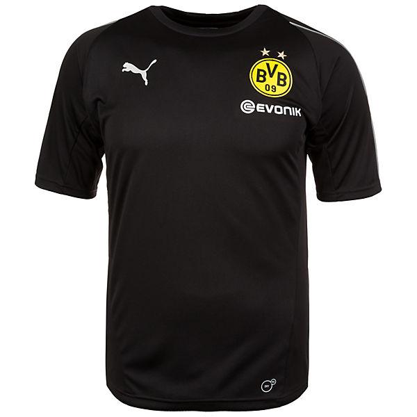 Shirts T PUMA schwarz Borussia Trainingsshirt Dortmund ycqaPcvwU8