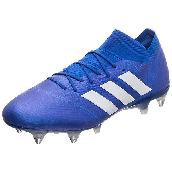 adidas Performance adidas Nemeziz 18.1 SG Fußballschuh Fußballschuhe blau/weiß