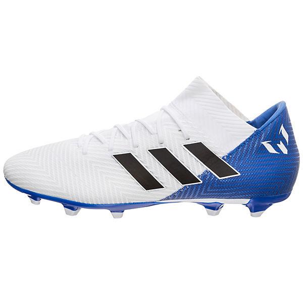 adidas 3 Nemeziz adidas Fußballschuhe 18 Performance Messi FG weiß Fußballschuh aW5x17q