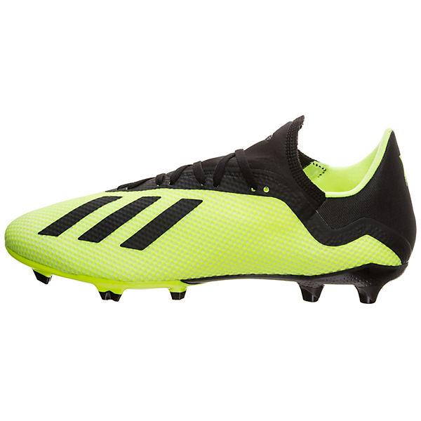 adidas Fußballschuh Fußballschuhe adidas 18 gelb Performance X 3 FG 6w5Pqp5