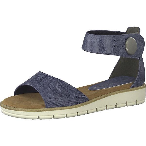 detaillierter Blick online Shop gut MARCO TOZZI, Klassische Sandalen, blau