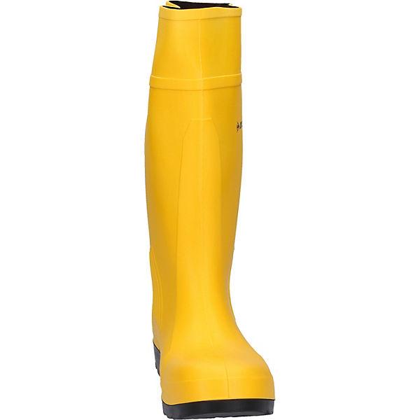 Purofort Arbeitsgummistiefel Dunlop Sicherheitsstiefel Gelb kiZuPTOX