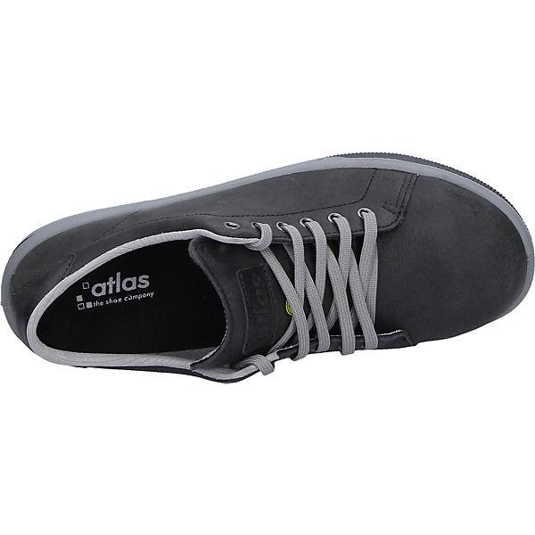 Atlas A285 Sicherheitshalbschuhe Schwarz Sneaker Esd Sicherheitsschuhe A43Lq5Rj