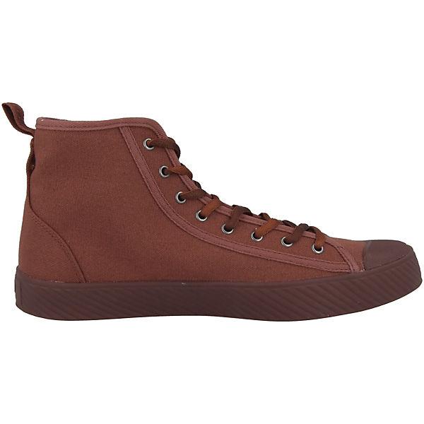 Palladium Sneakers Pallaphoenix High braun Mid Schuhe Canvas q0TFwHzq