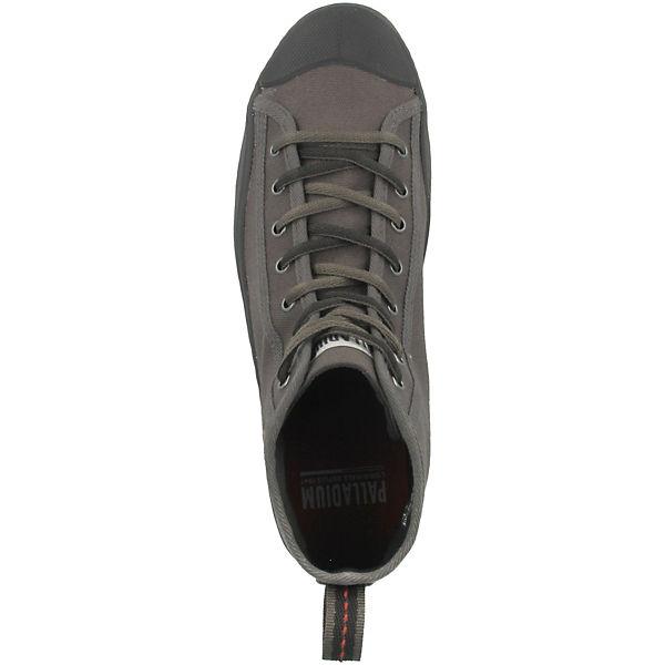 Sneakers grau Palladium High Canvas Schuhe Mid Pallaphoenix wx0TBR