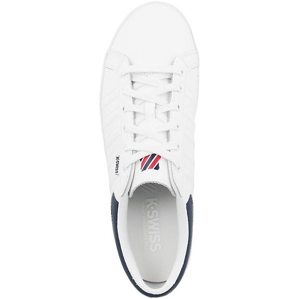 K-SWISS, Schuhe Hof IV T VNZ Sneakers Low, weiß Schuhe  Gute Qualität beliebte Schuhe weiß 5f6764
