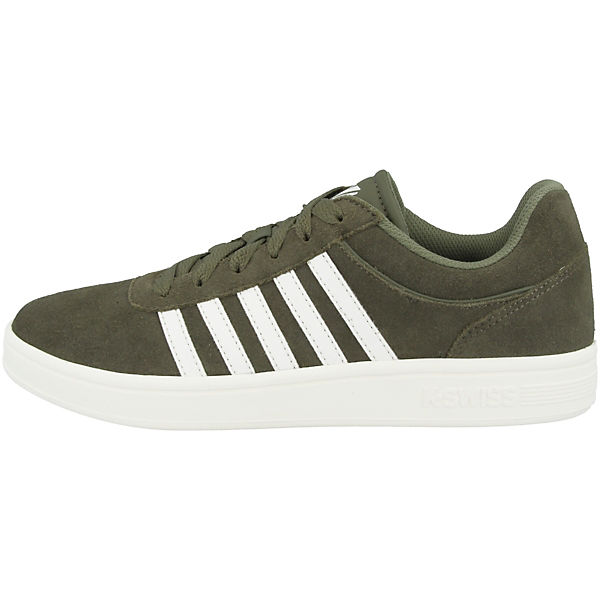K-SWISS, Schuhe Court Cheswick Sde Sneakers Low, grün