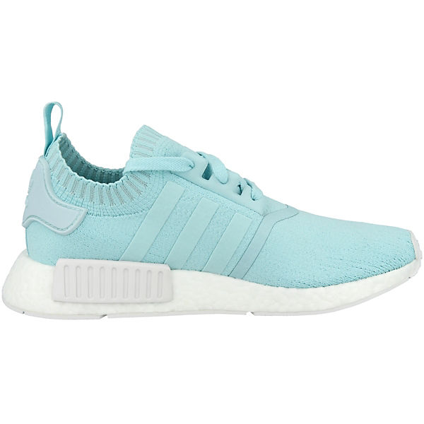 R1 Primeknit Originals adidas Schuhe Sneakers Low blau NMD 1wRFqtFv
