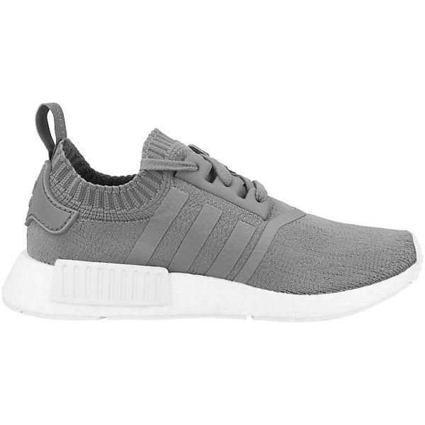 grau Schuhe Primeknit Originals R1 adidas Low Sneakers NMD 5a0wqx