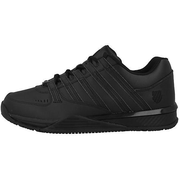K Sneakers Low Schuhe SWISS schwarz Baxter wwTYv6qZ