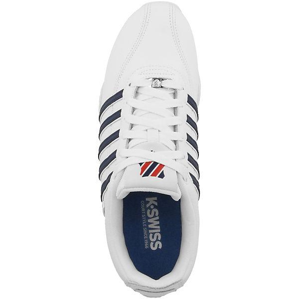 Arvee weiß Schuhe SWISS 1 K Sneakers 5 Low zvPxnwUf
