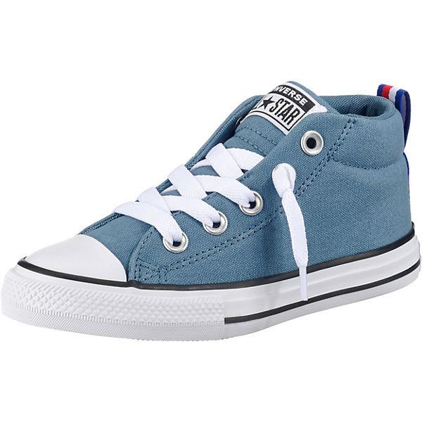 ac6f079786f56 Kinder Sneakers High CTAS STREET MID CELESTIAL TEAL BLACK. CONVERSE