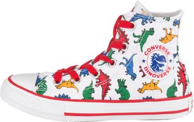CONVERSE, Sneakers High CTAS HI WHITEENAMEL REDTOTALLY