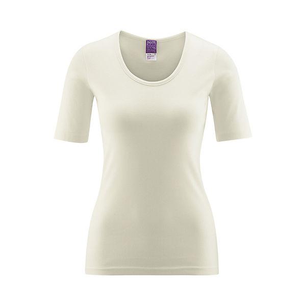Living Kurzarm Cotton Crafts Natur shirtOrganic W9DEHI2