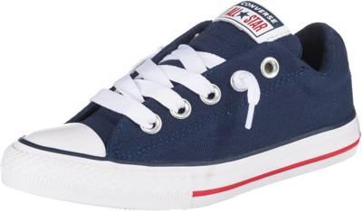 CONVERSE, Kinder Sneakers Low CTAS STREET SLIP NAVYWHITEGARNET, blau
