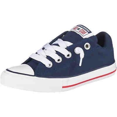 8a44ba18f3d8c Kinder Sneakers Low CTAS STREET SLIP NAVY WHITE GARNET ...