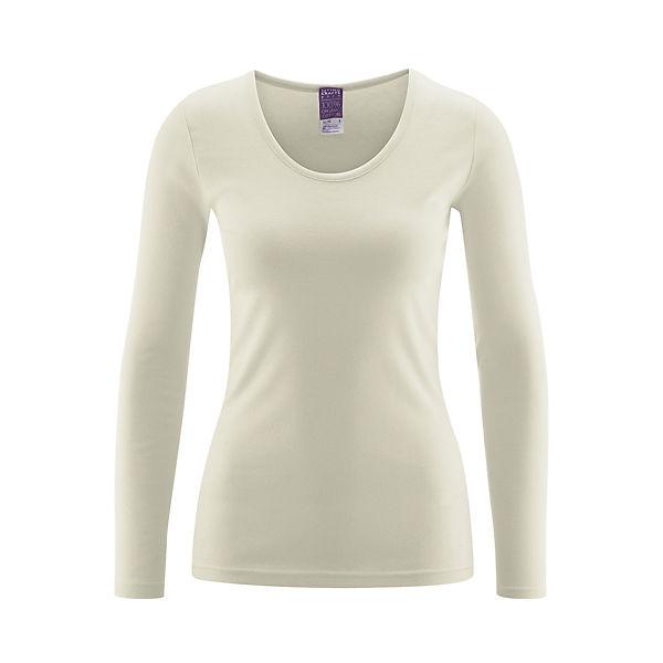 shirtOrganic Langarm Living Cotton Crafts Natur Ybg7yf6v