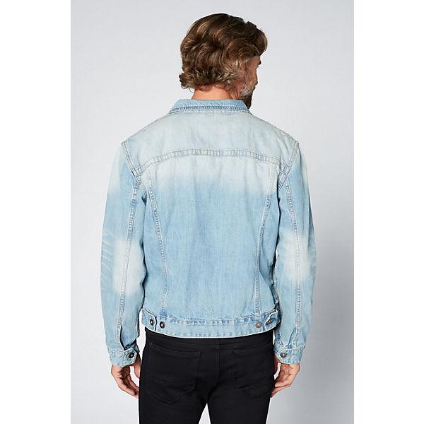 denim DENIM Jeansjacke Optik Herren gewaschener blue COLORADO GOTS in BfpUqR8w