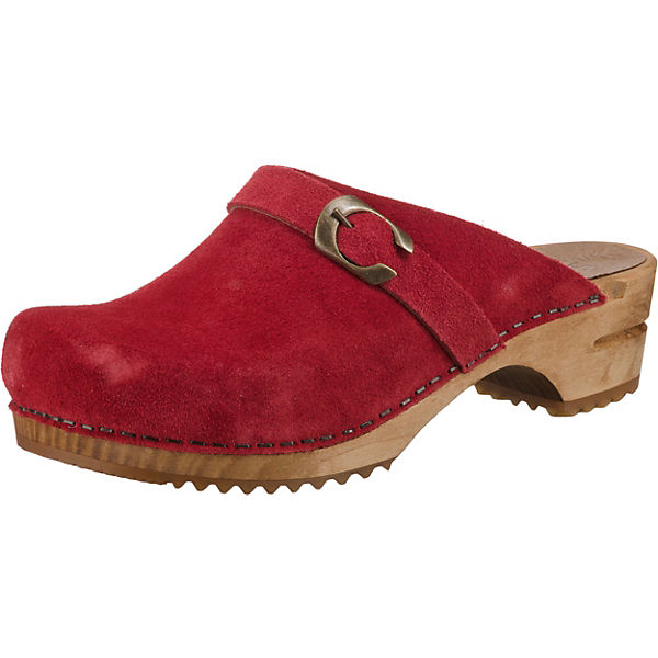 Wood-Hedi open Clogs