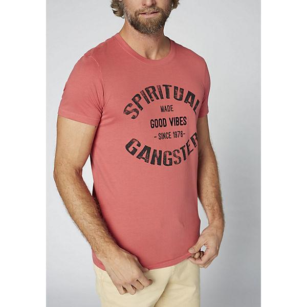 Baumwolle rot COLORADO T Herren weicher DENIM GOTS aus Shirt BWWqAxzfwR