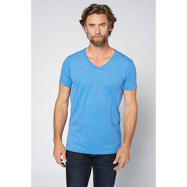 DENIM Herren hellblau Shirt V mit T Ausschnitt COLORADO pCdqRC