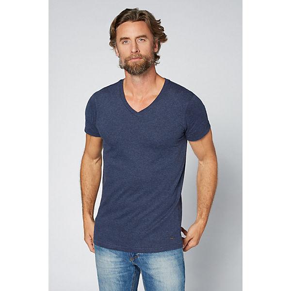 DENIM V COLORADO Ausschnitt mit blau Shirt Herren T Svwqd6