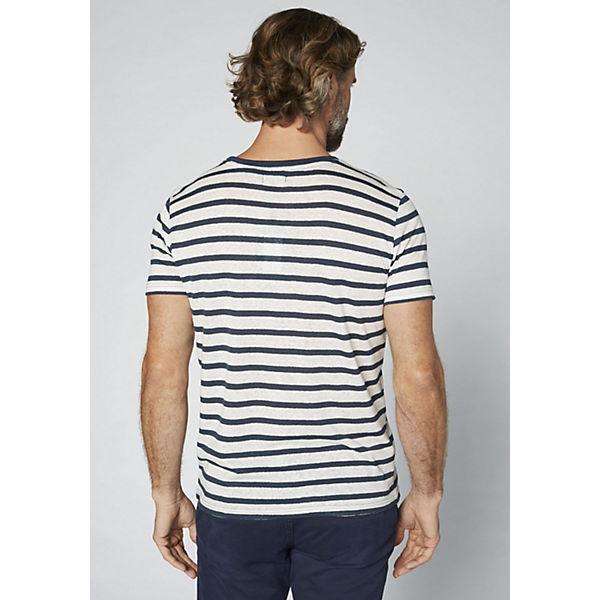 Herren dunkelblau DENIM in Streifenoptik T COLORADO Shirt COgPcfq55