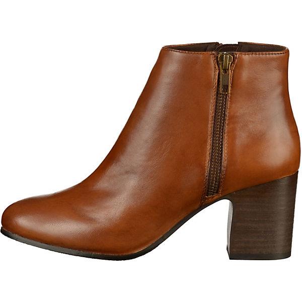 SPM, Stiefelette Plateau-Stiefeletten, braun  Gute Qualität beliebte Schuhe