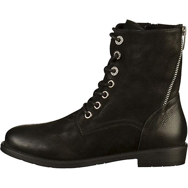 SPM,  Stiefelette Schnürstiefeletten, schwarz  SPM, Gute Qualität beliebte Schuhe 6f72c2