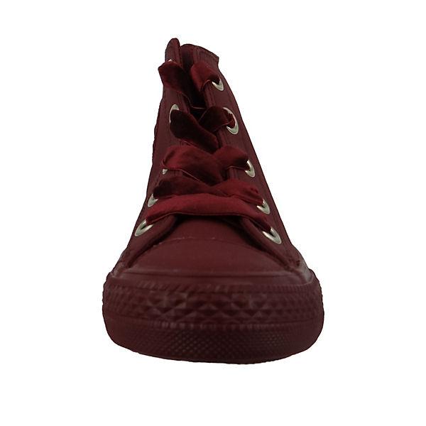CONVERSE, Chucks Weinrot Star 561687C Chuck Taylor All Star Weinrot Big Eyelets HI Dark Burgundy Sneakers High, bordeaux  Gute Qualität beliebte Schuhe 34b3b0