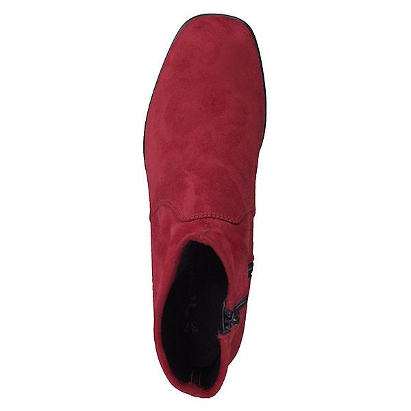 Tamaris, 1-25495-21 515 Damen Lipstick Lipstick Lipstick Rot Stiefelette mit Stretch Schaft Klassische Stiefeletten, rot Gute Qualität beliebte Schuhe d02842
