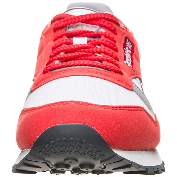 Reebok Classic Leather Leather Classic rot Reebok Sneaker Classic rot Sneaker Reebok q51qYdw