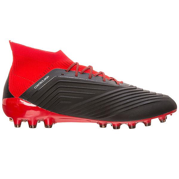 18 adidas 1 adidas Fußballschuh Predator weiß schwarz AG Performance 4nHSUqWt
