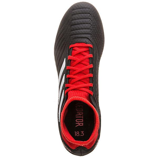 3 Predator Performance Fußballschuh SG adidas adidas rot 18 schwarz BqOpxH