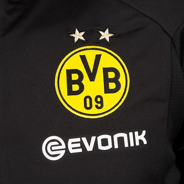Trainingsjacke PUMA Dortmund schwarz Borussia Poly qHBf8PxU