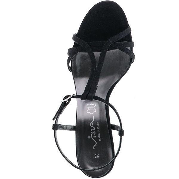 Sandaletten Vista Glitzer Vista Sandaletten Glitzer schwarz Vista Glitzer schwarz vCqtWw6w
