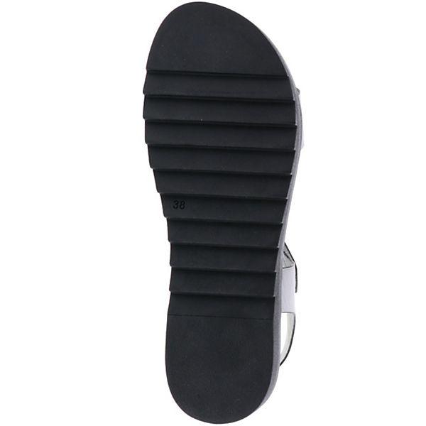 Vista, Riemen Sandalen grau//gold, grau Schuhe  Gute Qualität beliebte Schuhe grau 9d0ca4
