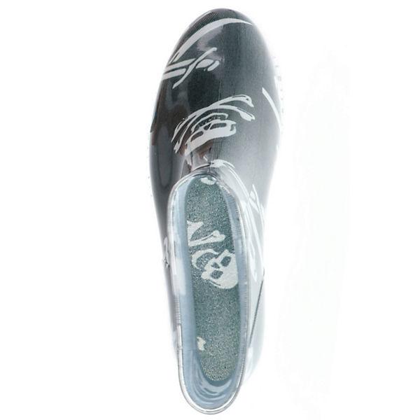 G amp;G amp;G G Gummistiefeletten Stiefeletten schwarz rrvYqwC
